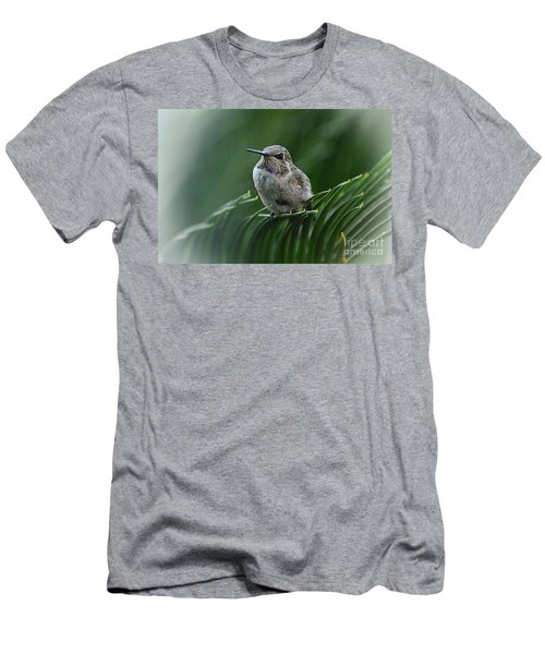 Men's T-Shirt (Slim Fit) featuring the photograph Hint Of Purple by Debby Pueschel