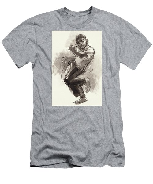 Hiphop Dancer 2 Men's T-Shirt (Athletic Fit)