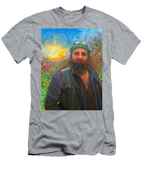 Hippie Mike Men's T-Shirt (Athletic Fit)