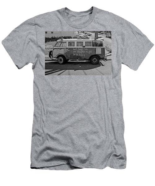 Hippie Van, San Francisco 1970's Men's T-Shirt (Athletic Fit)