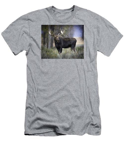 His Majesty Men's T-Shirt (Slim Fit) by Elizabeth Eldridge