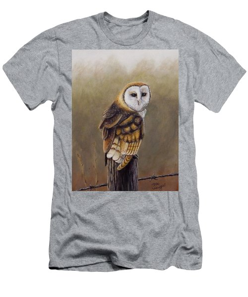 His Majesty Sits Men's T-Shirt (Slim Fit) by Dan Wagner