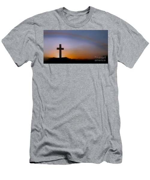Men's T-Shirt (Slim Fit) featuring the photograph His Promise by Benanne Stiens