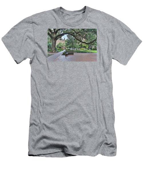 Historic Sqaure Men's T-Shirt (Athletic Fit)