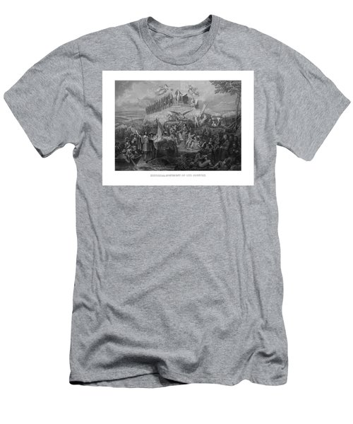Historical Monument Of Our Country Men's T-Shirt (Athletic Fit)