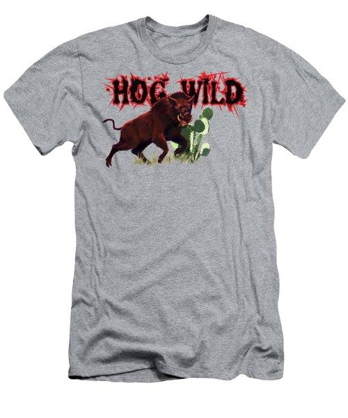 Hog Wild Tee Men's T-Shirt (Athletic Fit)