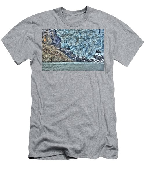 Holgate Glacier Hdr Men's T-Shirt (Athletic Fit)