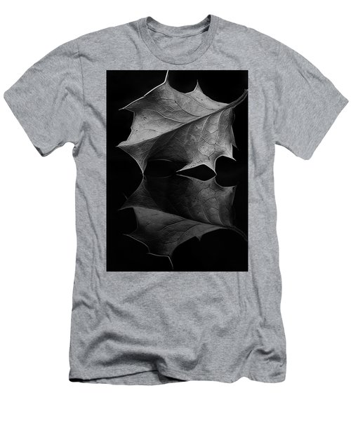Holly Leaf Men's T-Shirt (Athletic Fit)