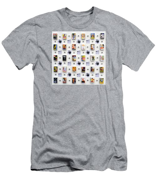 Hollywood On A Matchbox Men's T-Shirt (Athletic Fit)