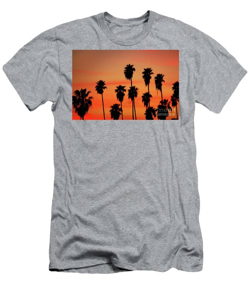 Hollywood Sunset Men's T-Shirt (Athletic Fit)