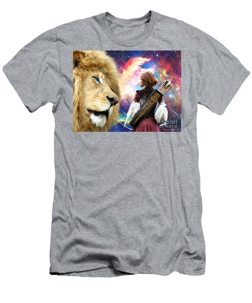 Men's T-Shirt (Slim Fit) featuring the digital art Holy Calling by Dolores Develde