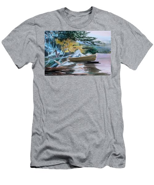 Homage To Winslow Homer Men's T-Shirt (Slim Fit) by Mindy Newman