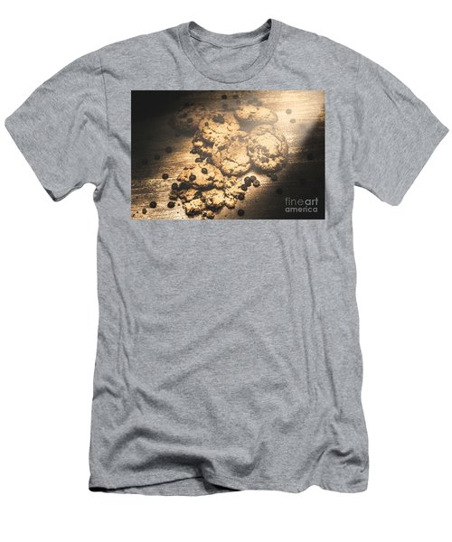 Home Biscuit Baking Men's T-Shirt (Athletic Fit)