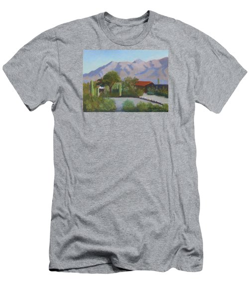 Home In The Catalinas Men's T-Shirt (Slim Fit) by Susan Woodward