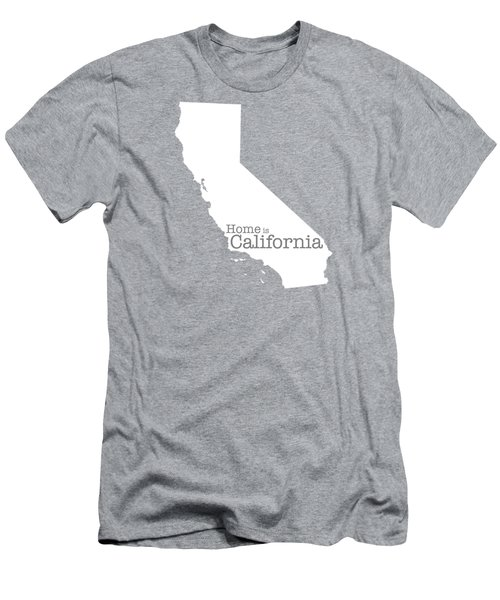 Home Is California Men's T-Shirt (Slim Fit) by Bruce Stanfield