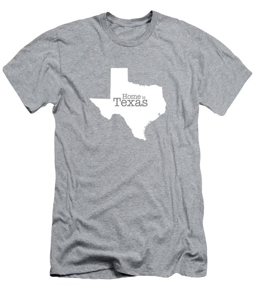 Home Is Texas Men's T-Shirt (Athletic Fit)