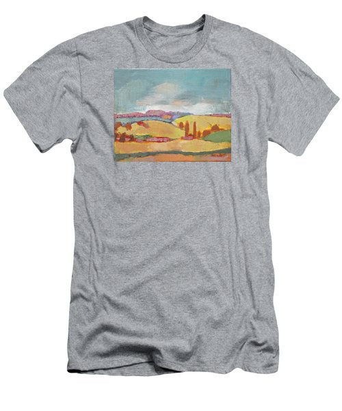 Home Land Men's T-Shirt (Slim Fit) by Becky Kim