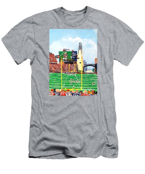 Home Of The Pats Men's T-Shirt (Slim Fit) by Jack Skinner