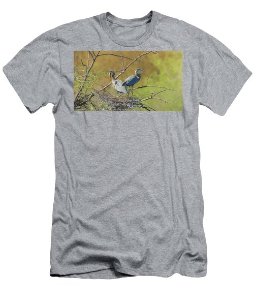 Home Town Blues Men's T-Shirt (Slim Fit) by Kelly Marquardt