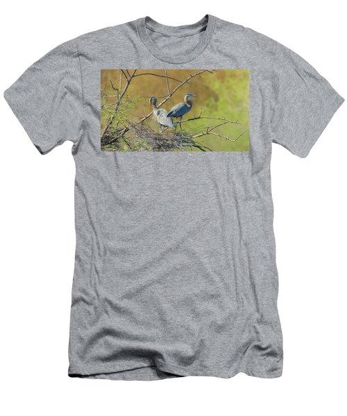 Home Town Blues Men's T-Shirt (Athletic Fit)