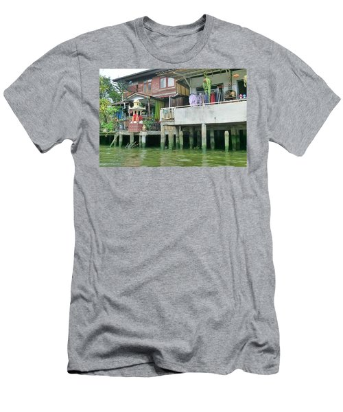 Homes On The Water Men's T-Shirt (Athletic Fit)
