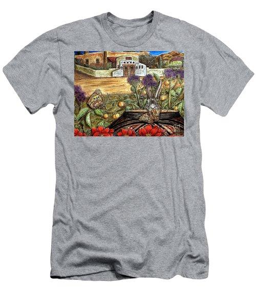 Homesteading Men's T-Shirt (Slim Fit) by Kim Jones