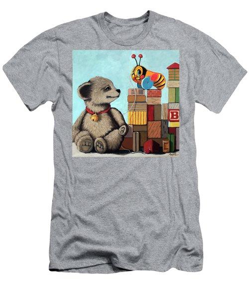 Honey Bear - Vintage Toys Men's T-Shirt (Athletic Fit)