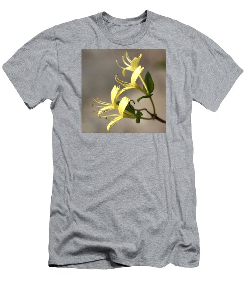 Honeysuckle  Men's T-Shirt (Slim Fit) by Shirley Mitchell