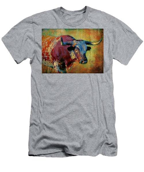 Hook 'em 2 Men's T-Shirt (Athletic Fit)