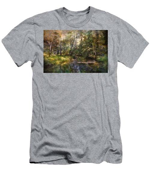 Hopkins Pond, Haddonfield, N.j. Men's T-Shirt (Athletic Fit)