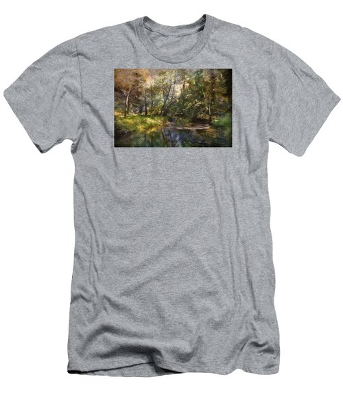 Hopkins Pond, Haddonfield, N.j. Men's T-Shirt (Athletic Fit)