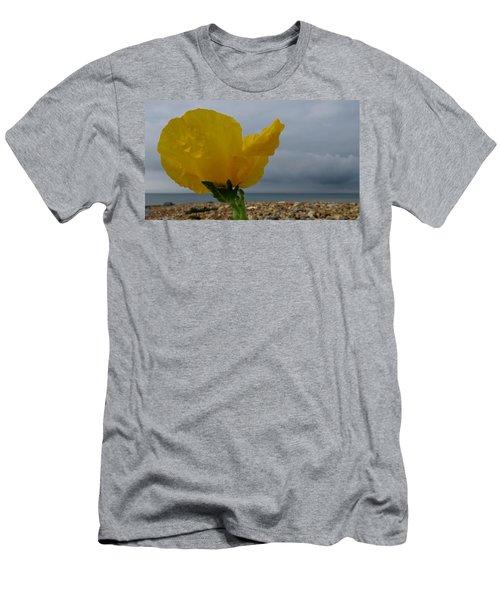 Horned Poppy By The Sea Men's T-Shirt (Slim Fit) by John Topman