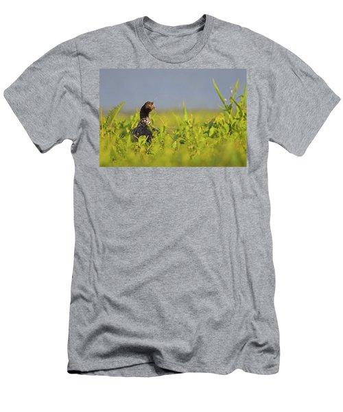 Horned Screamer Men's T-Shirt (Athletic Fit)