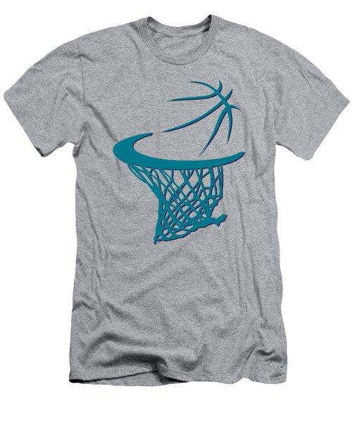 Hornets Basketball Hoop Men's T-Shirt (Athletic Fit)