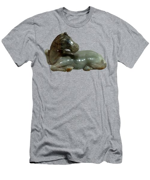 Horse Figure Men's T-Shirt (Athletic Fit)