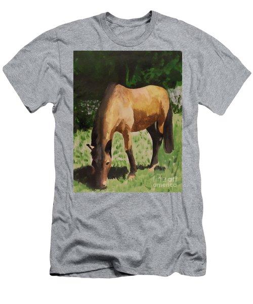 Horse Men's T-Shirt (Athletic Fit)
