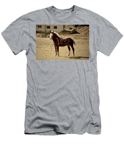 Horse Love Men's T-Shirt (Athletic Fit)