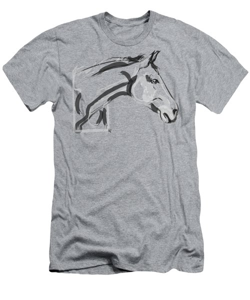 Horse - Lovely Men's T-Shirt (Athletic Fit)
