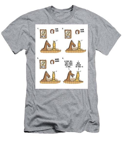 Horse Talk Men's T-Shirt (Athletic Fit)