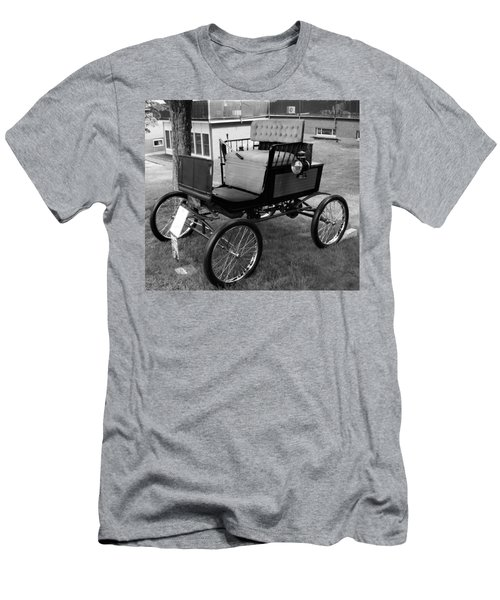 Horseless Carriage-bw Men's T-Shirt (Athletic Fit)