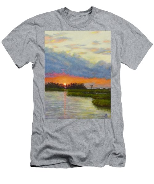Horseshoe Cove Sunset Men's T-Shirt (Athletic Fit)
