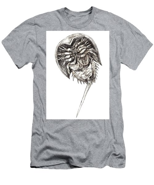 Horseshoe Crab Men's T-Shirt (Athletic Fit)