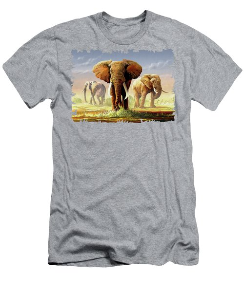 Hot Mara Afternoon Men's T-Shirt (Slim Fit) by Anthony Mwangi