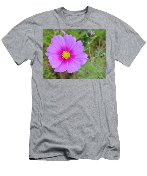 Men's T-Shirt (Athletic Fit) featuring the photograph Hot Pink Flower by Joseph R Luciano