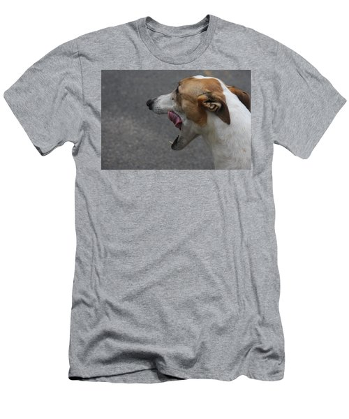 Men's T-Shirt (Slim Fit) featuring the photograph Hound Portrait by Vadim Levin
