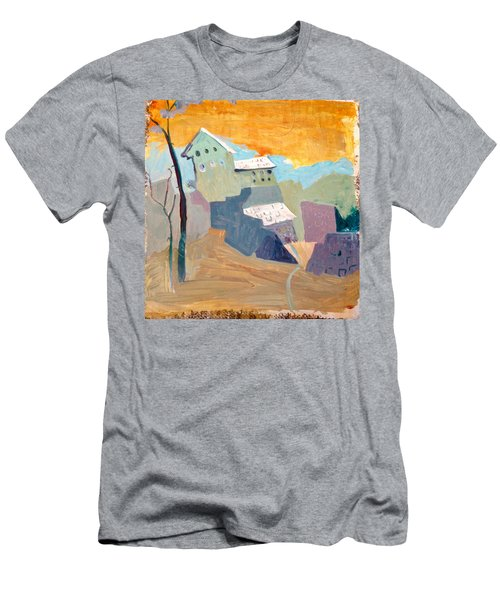 House On A Hill Men's T-Shirt (Athletic Fit)