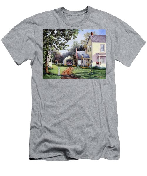 House On Bird Street Men's T-Shirt (Athletic Fit)