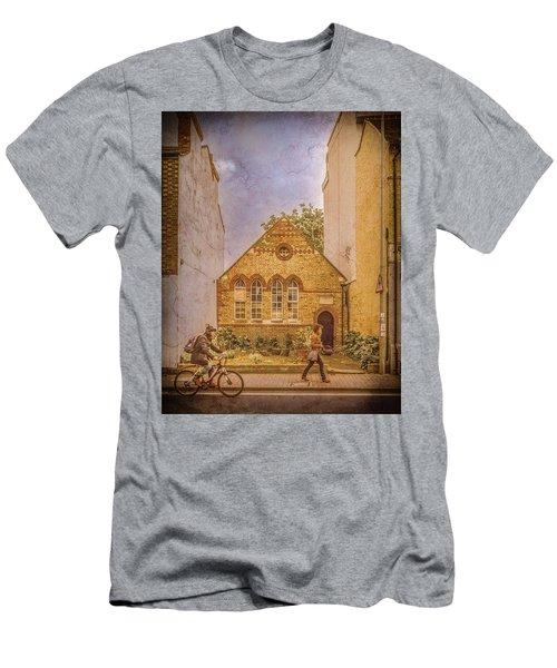 Oxford, England - House On Walton Street Men's T-Shirt (Athletic Fit)