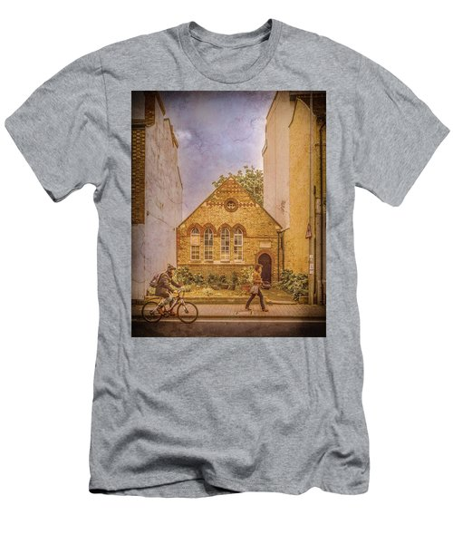 Oxford, England - House On Walton Street Men's T-Shirt (Athletic Fit)