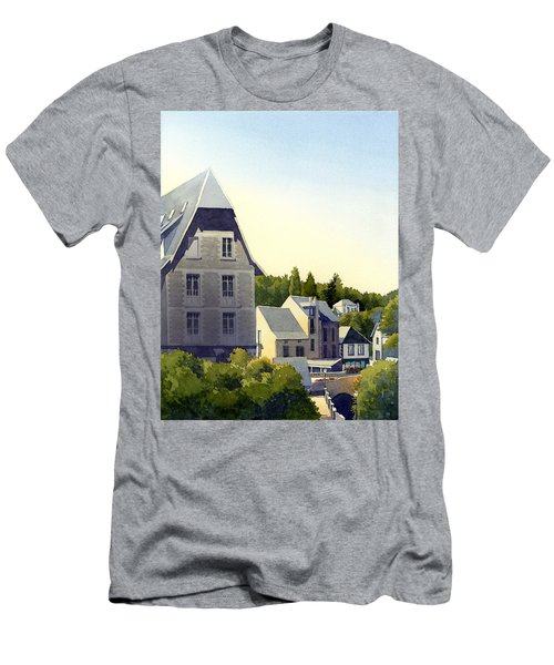 Houses At Murol Men's T-Shirt (Athletic Fit)